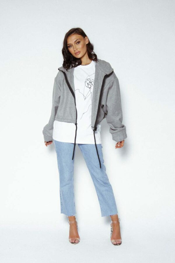 grey Awfully Pretty A\P oversized jackets