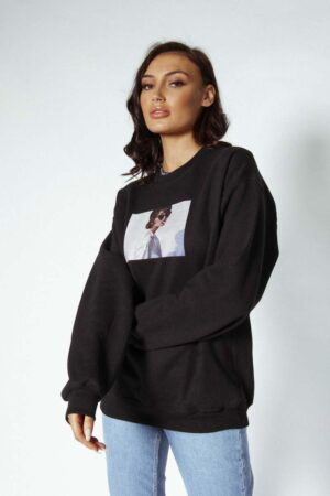 Ordinary oversized sweater Awfully Pretty Feel the Youth Collection #allblackeverything
