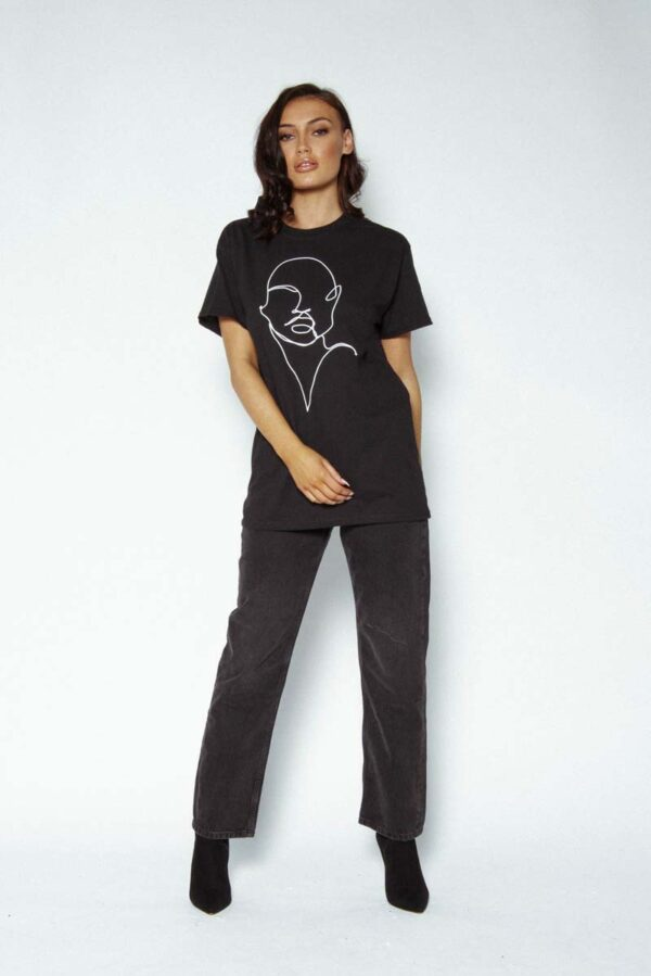 profile womens tshirt - womens streetwear style