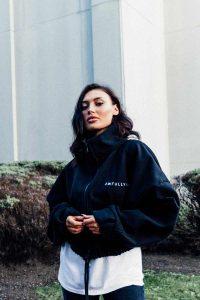 black jacket slider square 200x300 - Black lets start with the logo jacket