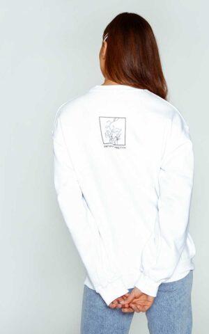 AP ECOM 08 300x480 - Floral Box Sweatshirt