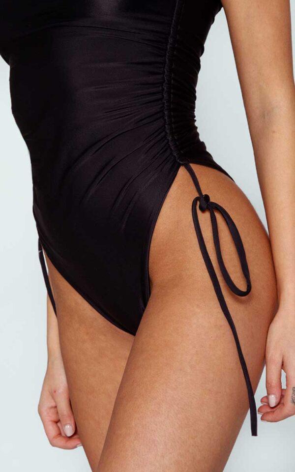 AP ECOM 140 600x960 - Gathered Black Swimsuit