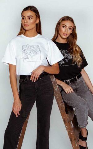 AP ECOM 32 300x480 - Floral Box T-shirt