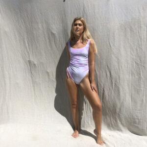 IMG 0510 300x300 - Gathered Tie-Dye Swimsuit
