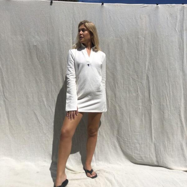 IMG 0682 600x600 - Needed Mini Dress In Ecru