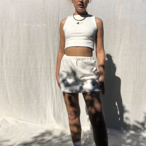 IMG 1305 600x600 - Sport Edition Mini Skirt In Ecru