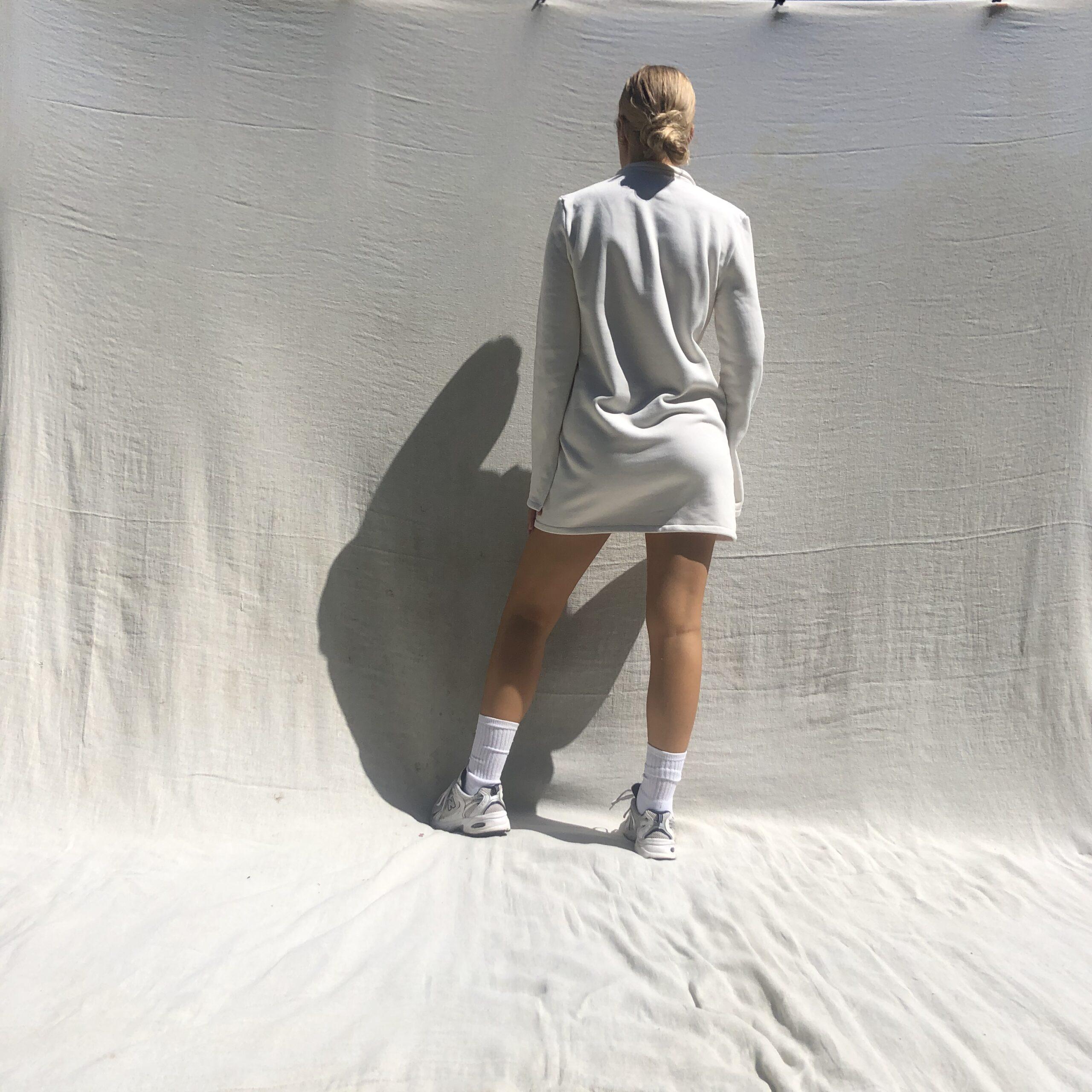 IMG 3793 scaled - Needed Mini Dress In Ecru