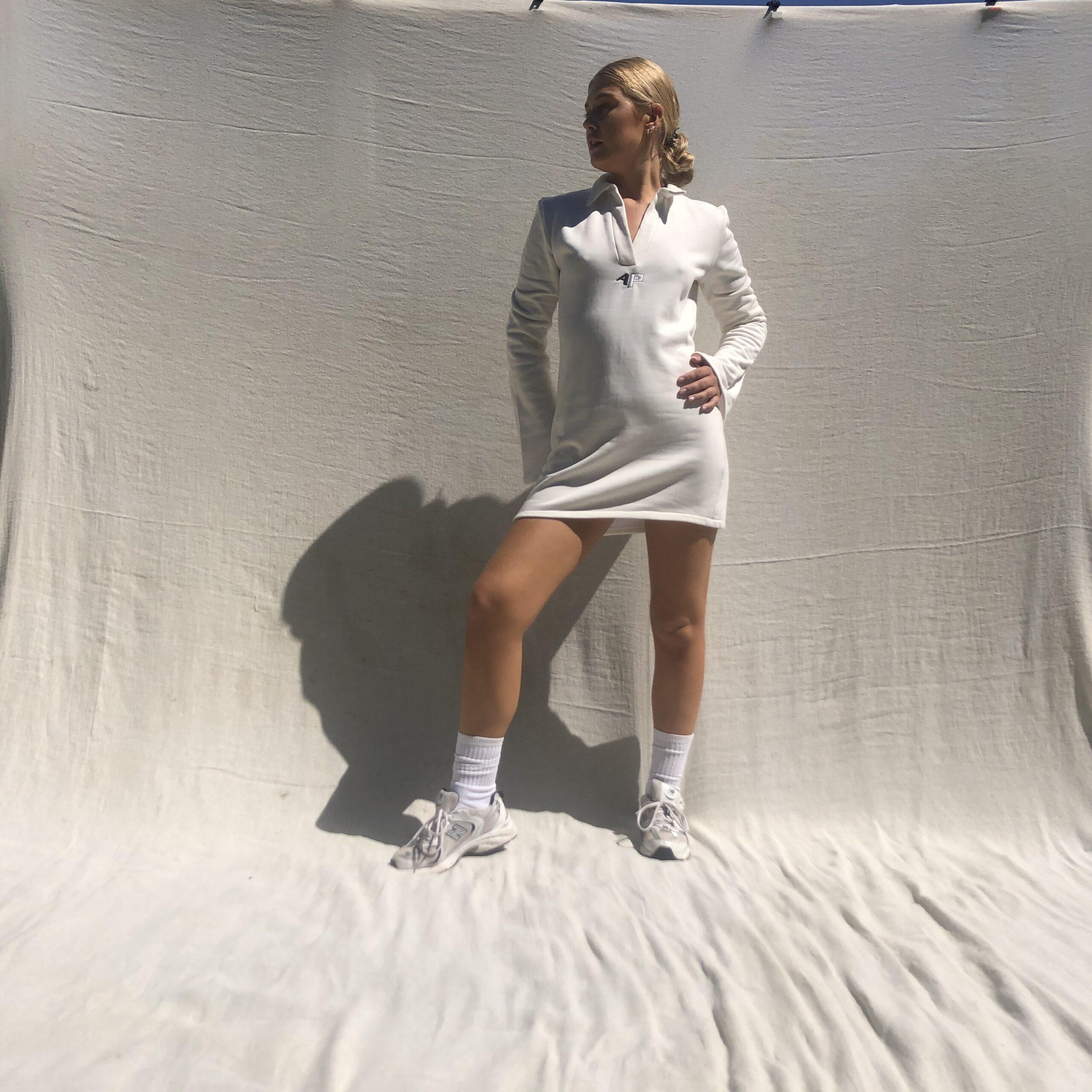 IMG 3806 scaled - Needed Mini Dress In Ecru