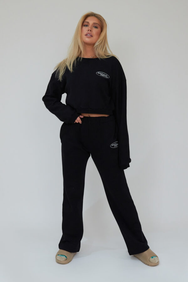 Awfully Pretty0038 1 600x900 - AP Oval Straight Jogger In Black