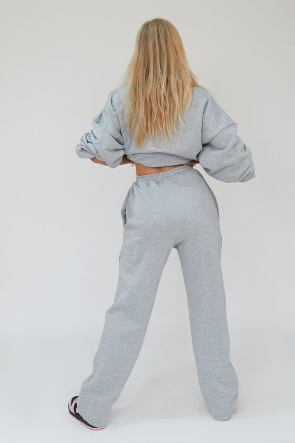 Awfully Pretty0039 2 600x900 - Pintuck Straight Joggers in Grey