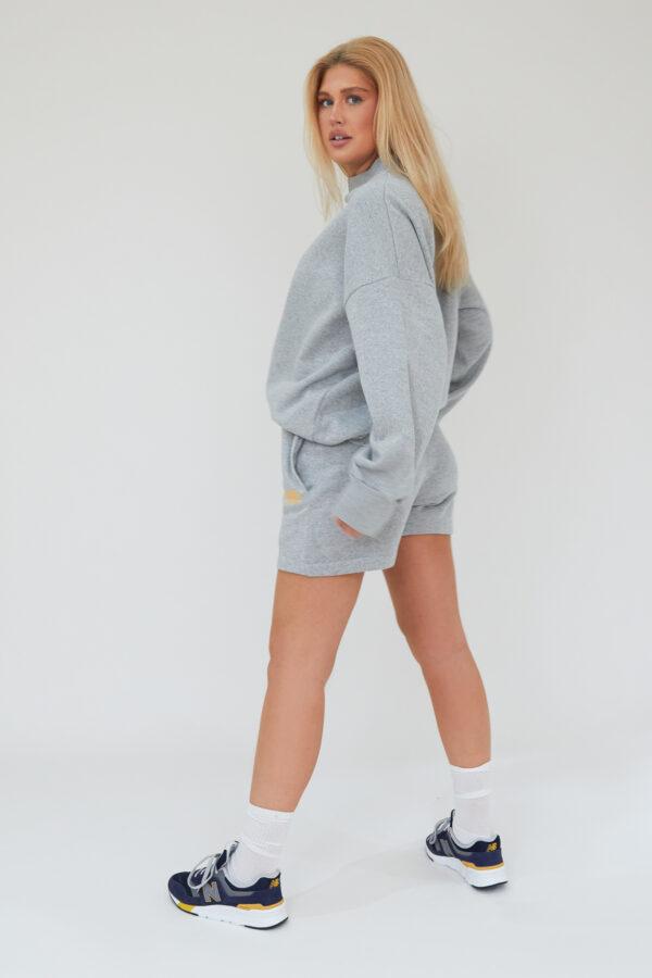 Awfully Pretty0069 1 600x900 - AP Contrast Shorts in Grey