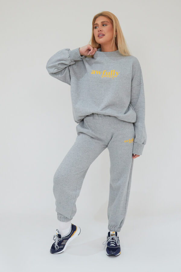 Awfully Pretty0080 1 600x900 - AP Contrast Joggers in Grey