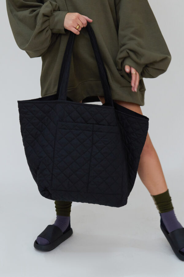 Awfully Pretty0106 2 600x900 - Quilted Oversized Bag