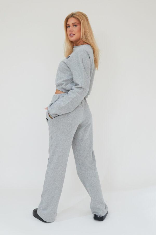 Awfully Pretty0141 600x900 - AP Oval Cropped Sweatshirt in Grey