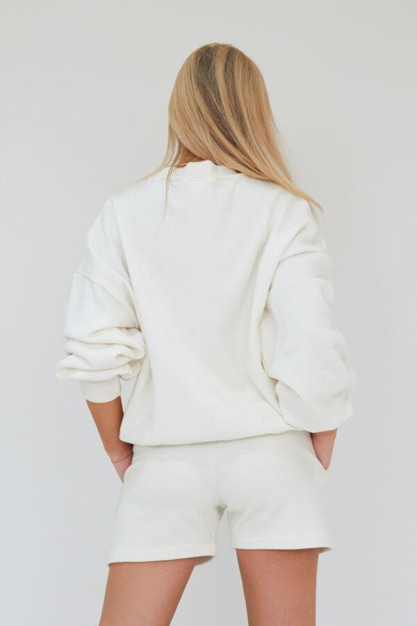 Awfully Pretty0159 600x900 - AP Contrast Shorts in Ecru