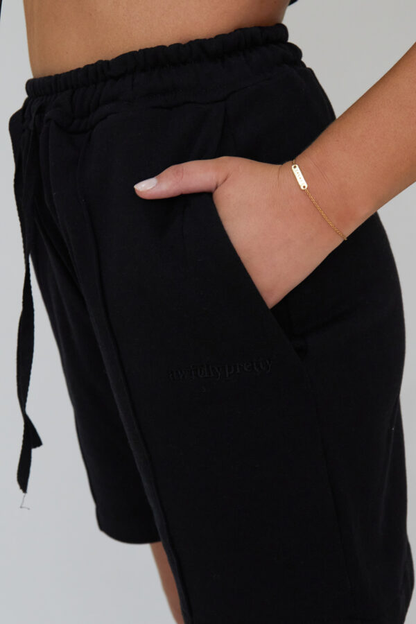 Awfully Pretty0236 1 600x900 - Pintuck Shorts in Black