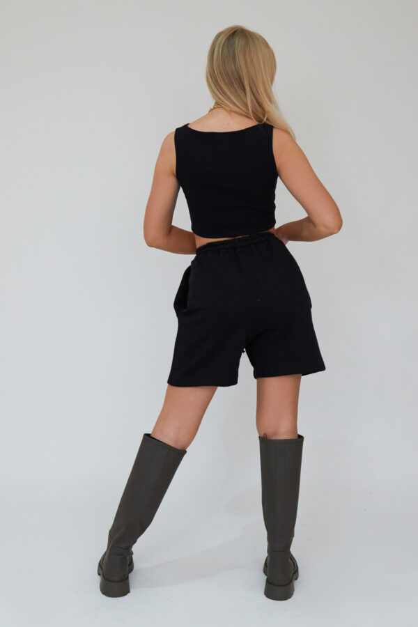 Awfully Pretty0242 1 600x900 - Pintuck Shorts in Black