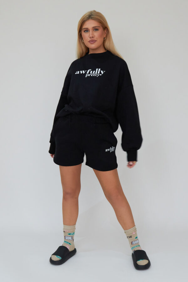 Awfully Pretty0249 600x900 - AP Contrast Sweatshirt in Black