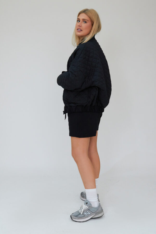 Awfully Pretty0272 1 600x900 - Quilted Bomber Jacket in Black