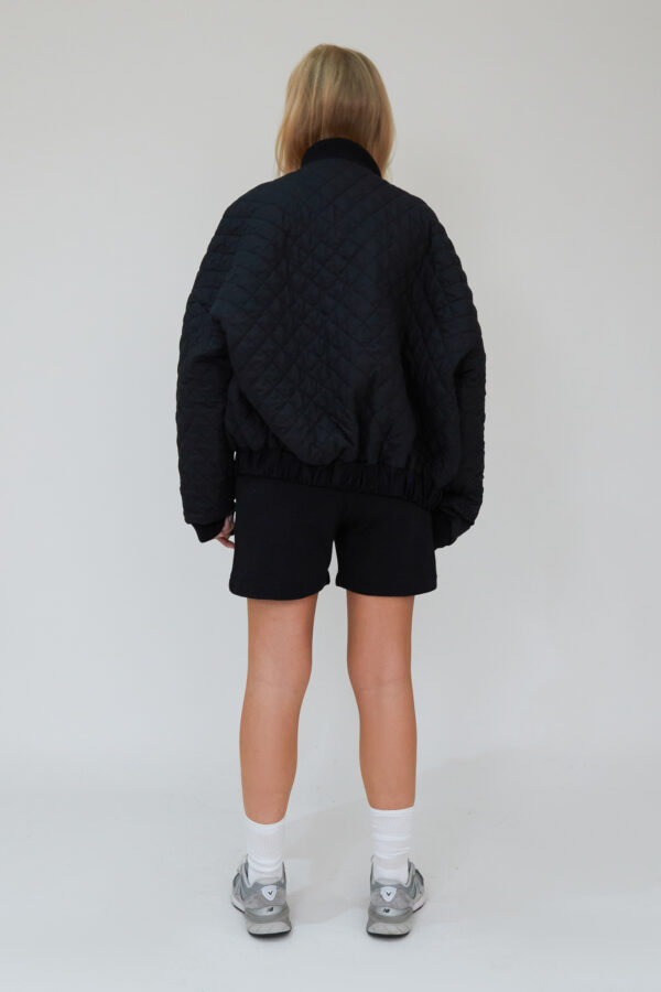 Awfully Pretty0284 1 600x900 - Quilted Bomber Jacket in Black