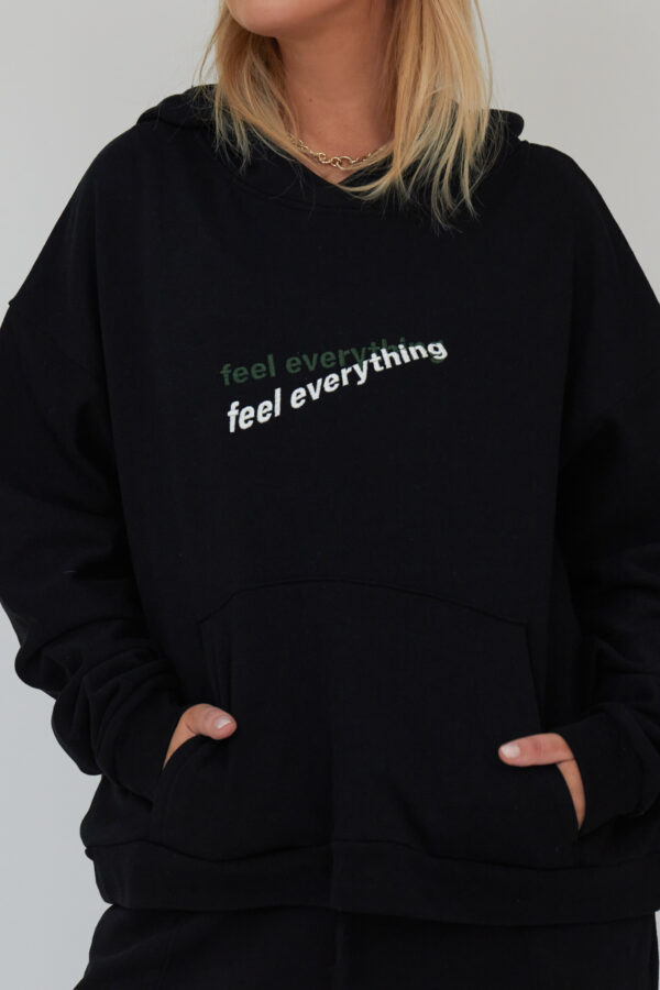 Awfully Pretty0343 1 600x900 - Feel Everything Hoodie in Black