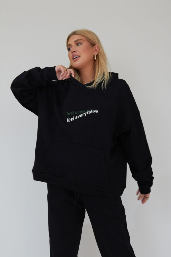 Awfully Pretty0346 1 600x900 - Feel Everything Hoodie in Black