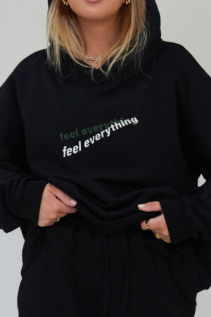 Awfully Pretty0361 1 300x450 - Feel Everything Hoodie in Black