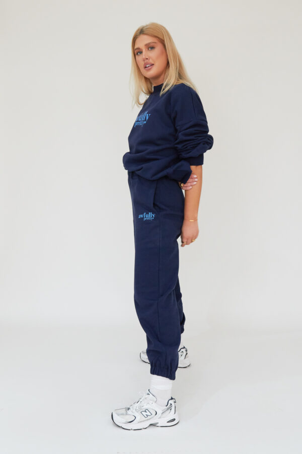 Awfully Pretty0367 600x900 - AP Contrast Joggers in Navy