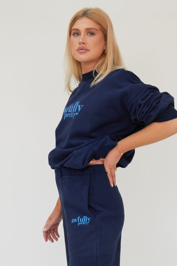 Awfully Pretty0369 600x900 - AP Contrast Joggers in Navy