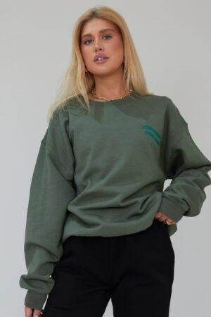 Awfully Pretty0418 1 300x450 - Stay Simple Stay True Sweatshirt in Khaki