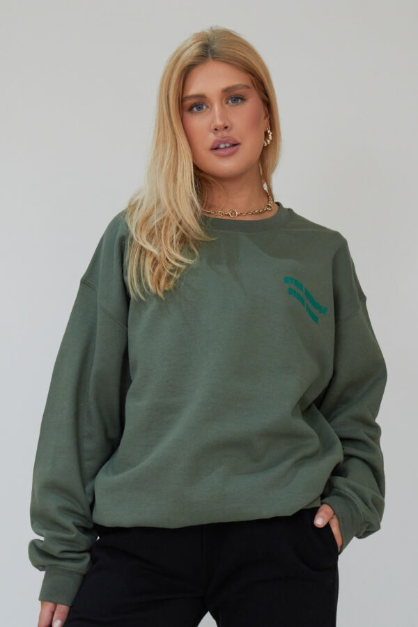 Awfully Pretty0432 1 600x900 - Stay Simple Stay True Sweatshirt in Khaki