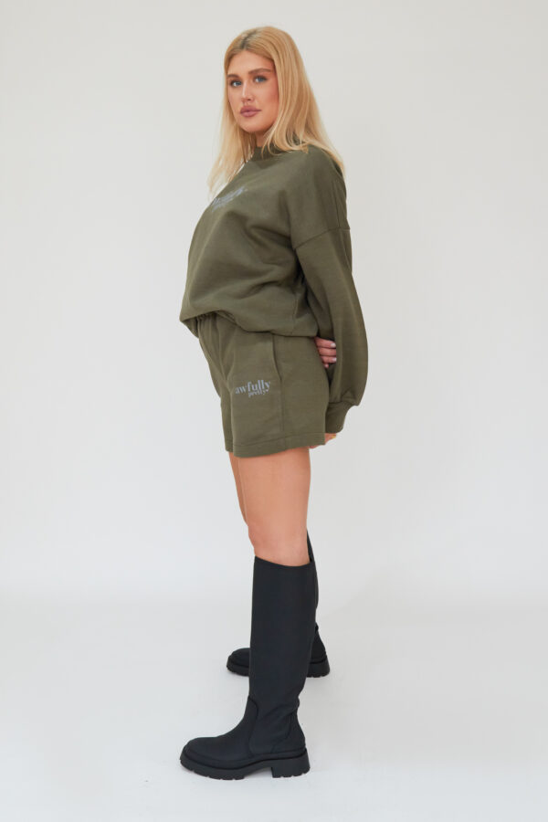Awfully Pretty0441 600x900 - AP Contrast Shorts in Khaki