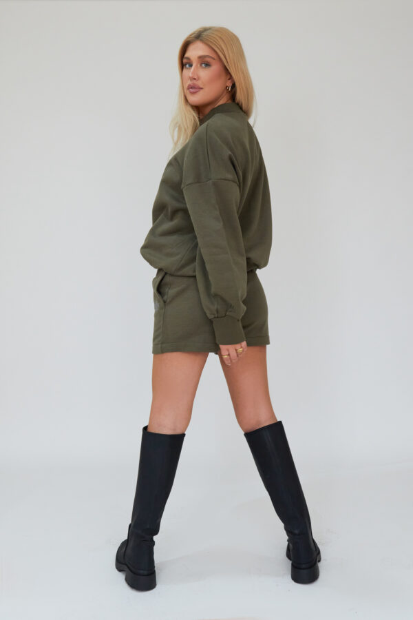 Awfully Pretty0448 600x900 - AP Contrast Shorts in Khaki