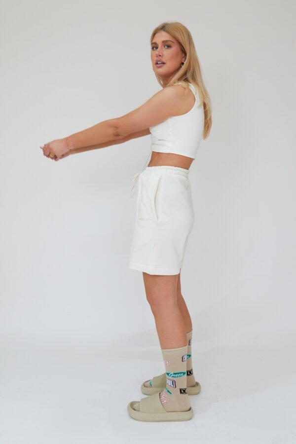 Awfully Pretty0449 1 600x900 - Pintuck Shorts in Ecru