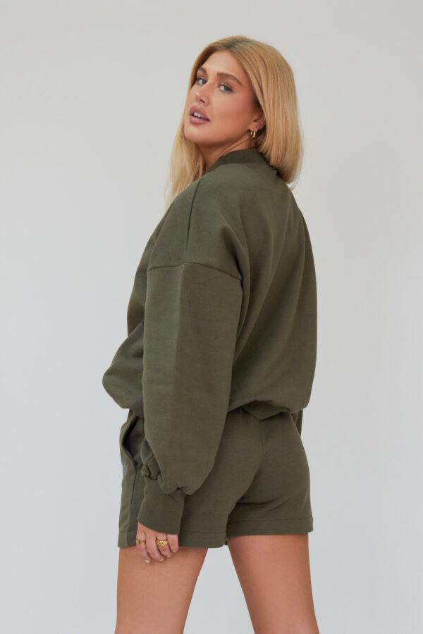 Awfully Pretty0449 600x900 - AP Contrast Sweatshirt in Khaki