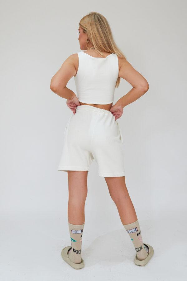Awfully Pretty0456 1 600x900 - Pintuck Shorts in Ecru