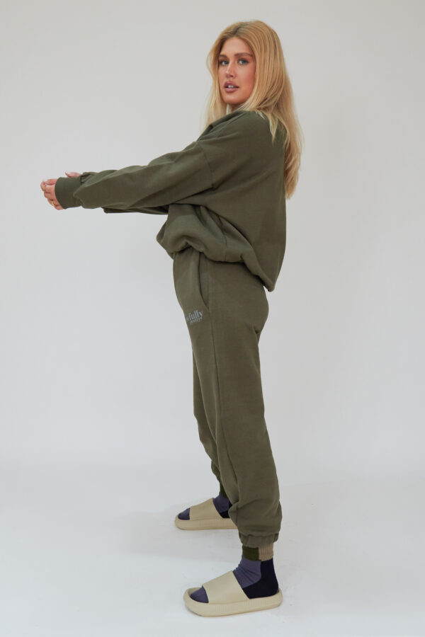 Awfully Pretty0477 600x900 - AP Contrast Joggers in Khaki