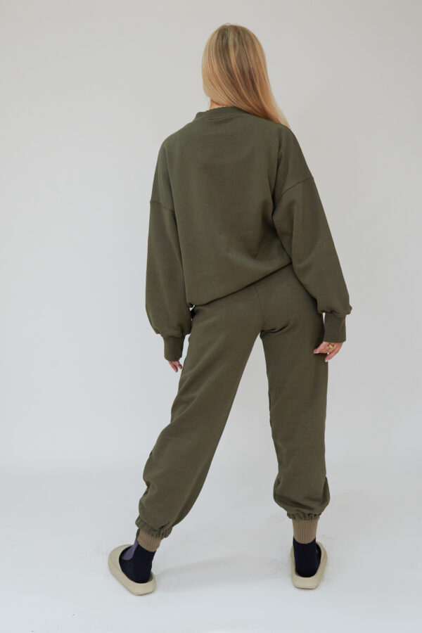 Awfully Pretty0479 600x900 - AP Contrast Joggers in Khaki