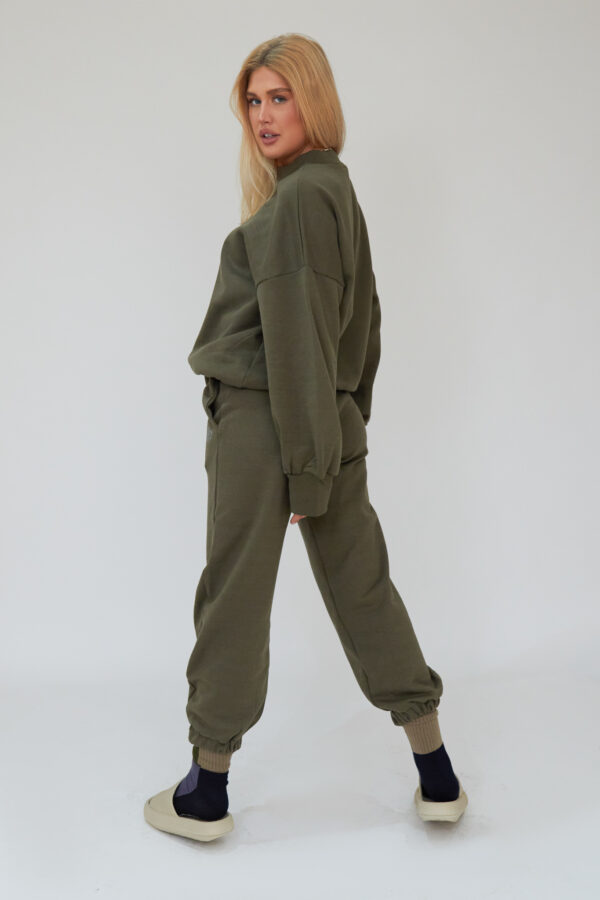 Awfully Pretty0483 600x900 - AP Contrast Joggers in Khaki