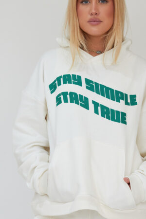 Awfully Pretty0501 1 300x450 - Stay Simple Stay True Hoodie in Ecru