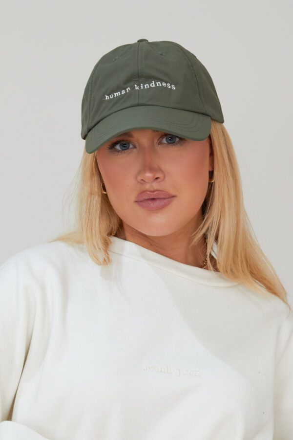 Awfully Pretty0538 600x900 - Human Kindness Cap in Khaki