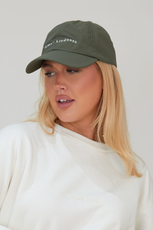 Awfully Pretty0539 600x900 - Human Kindness Cap in Khaki