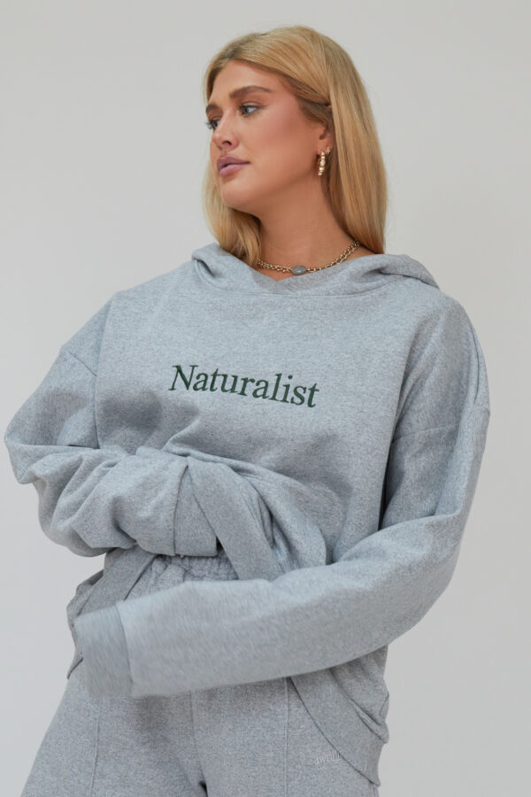 Awfully Pretty0572 600x900 - Naturalist Hoodie in Grey