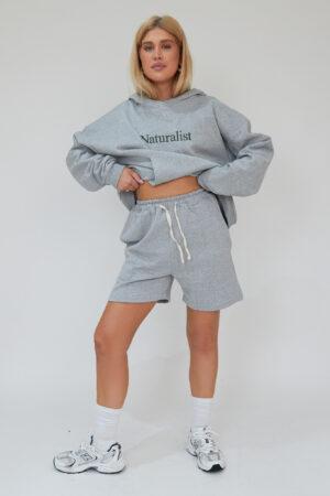 Awfully Pretty0595 300x450 - Pintuck Shorts in Grey