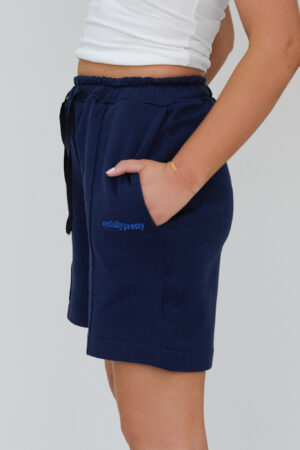 Awfully Pretty0681 300x450 - Pintuck Shorts in Navy