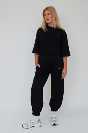 Awfully Pretty0725 1 300x450 - Human Kindness Joggers in Black