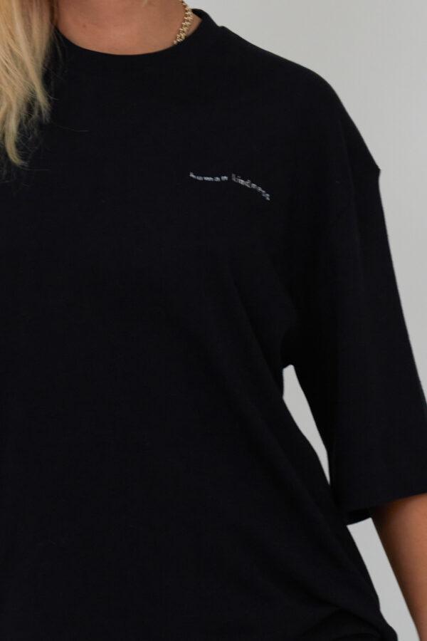 Awfully Pretty0747 600x900 - Human Kindness T-shirt in Black