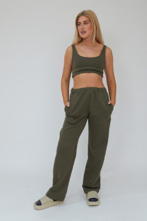 Awfully Pretty0799 300x450 - Straight Down Joggers in Khaki