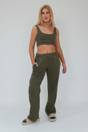 Awfully Pretty0803 300x450 - Straight Down Joggers in Khaki