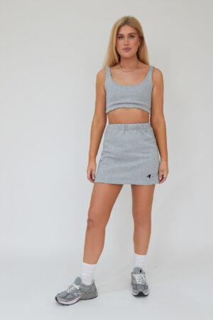 Awfully Pretty1007 300x450 - Sporty Edition Mini Skirt In Grey